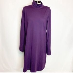 Title nine long sleeve mock neck dress